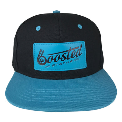 Boosted Status Snapback Hat - Black/Blue