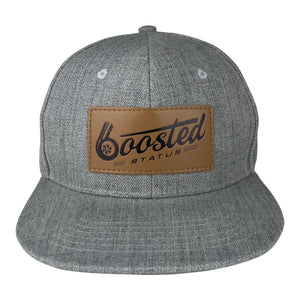 Boosted Status Snapback Hat - Gray/Gray