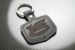 Leather Keychain Keyring for Toyota Celica Dragon