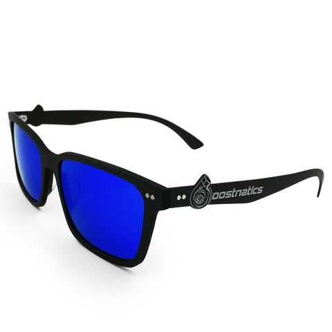 Boostnatics Carbon Fiber Boosted Turbo Shades - Polarized Blue