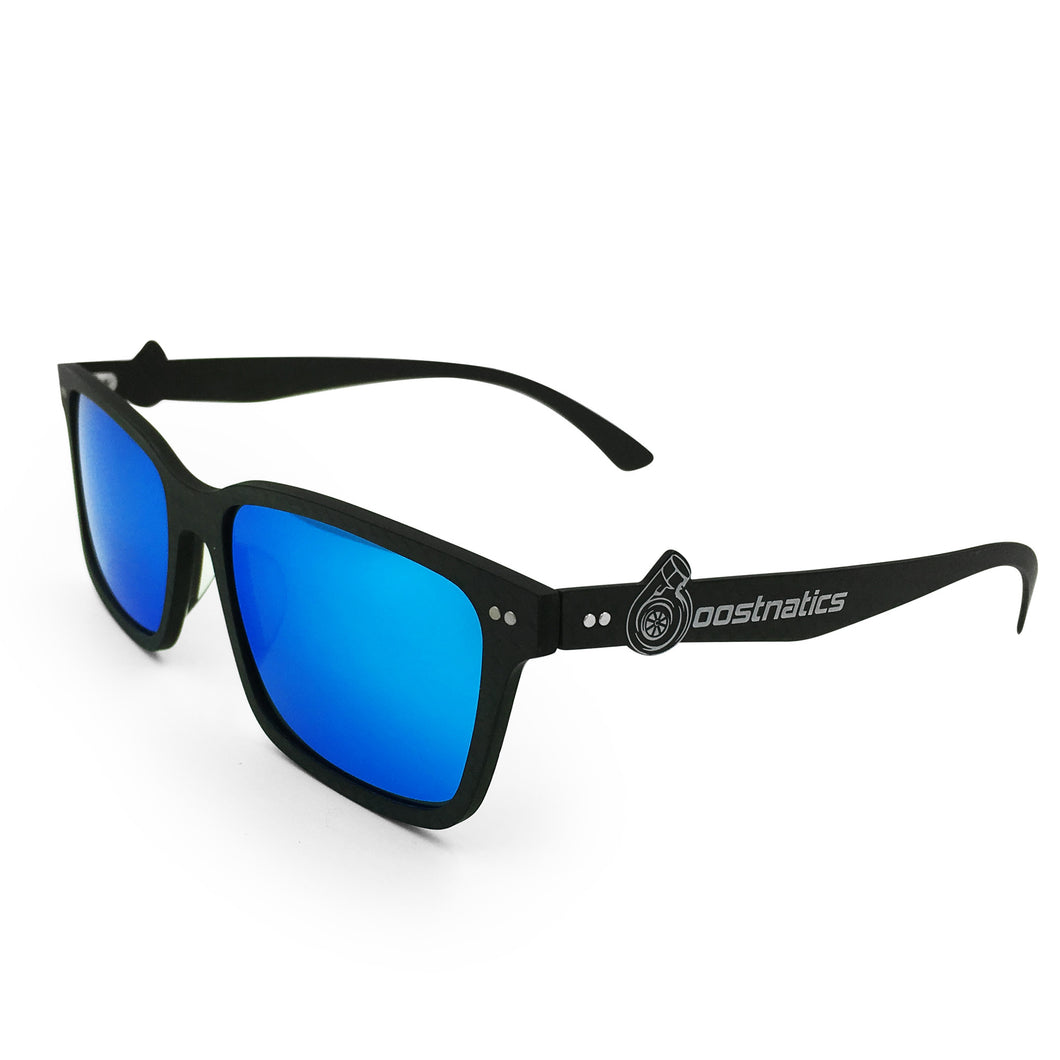Boostnatics Carbon Fiber Boosted Turbo Shades - Polarized Ice Blue