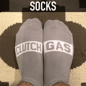 Clutch Gas Socks Gray