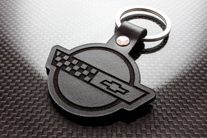 Leather Keychain for Chevrolet Corvette C4