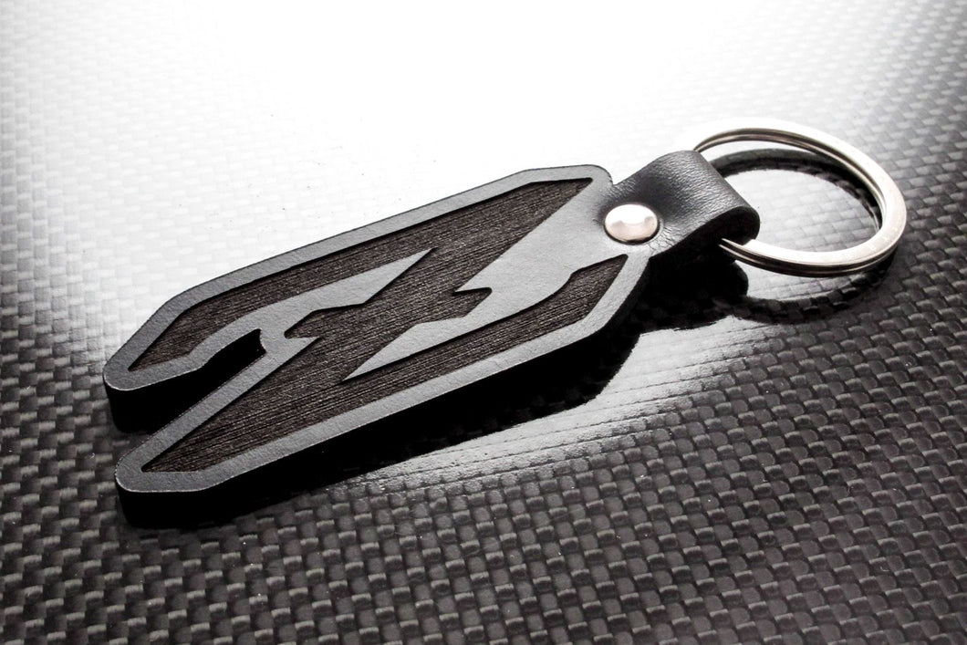 Leather Keychain for Datsun Z (Logo)