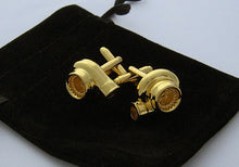 Turbo Cufflinks - Gold