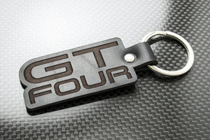 Leather Keychain Keyring for Toyota Celica GT-Four GT4