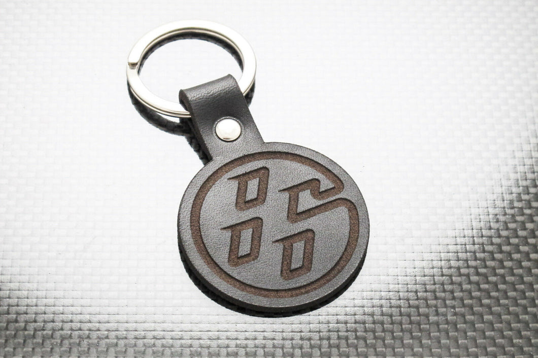 Leather Keychain for FR-S, BRZ, FT86, GT86 (Symbol)