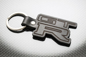Leather Keychain for Nissan Skyline GT-R