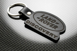 Leather Keychain Keyring for Land Rover Discovery