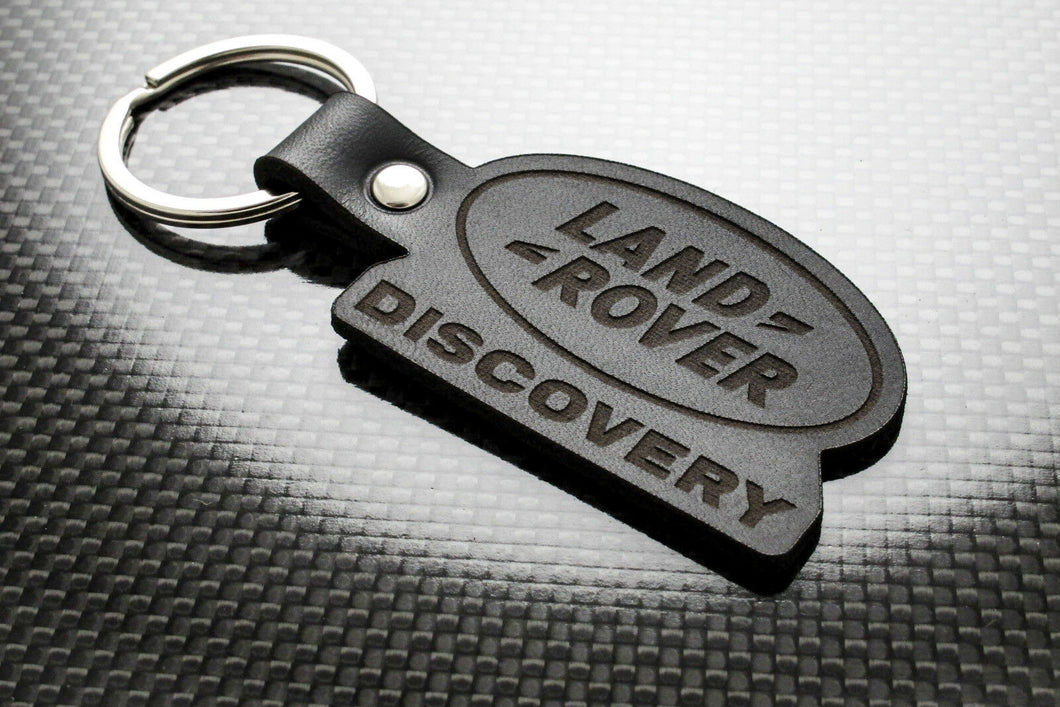 Leather Keychain for Land Rover Discovery