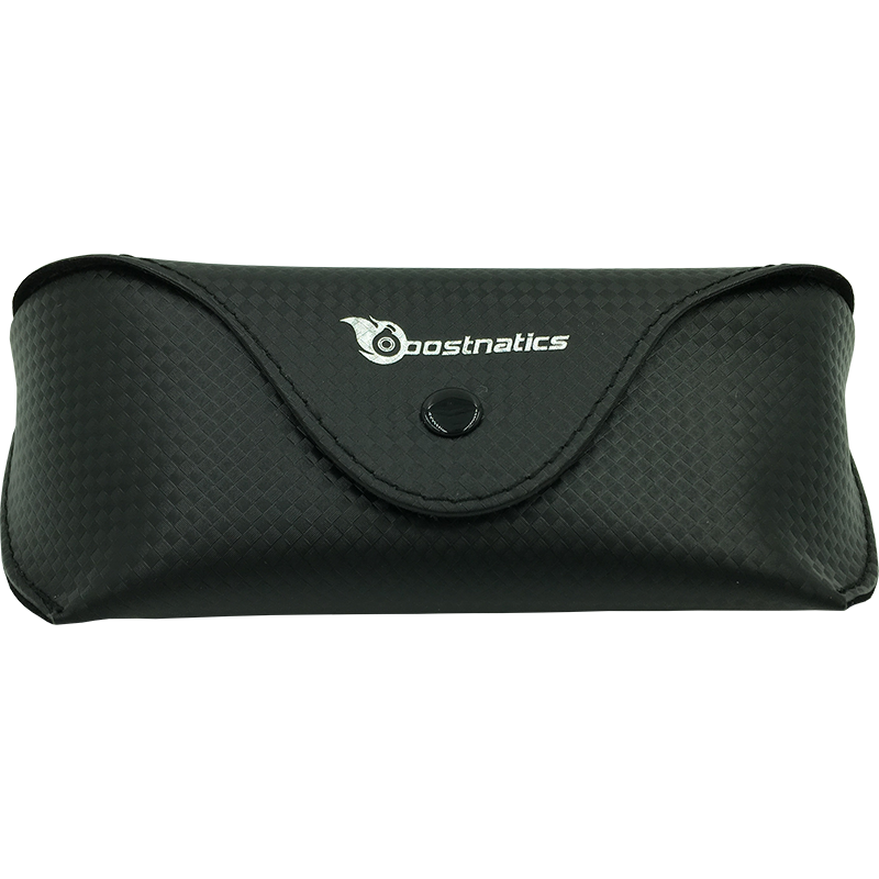 Boostnatics Carbon Fiber Style Leather Case