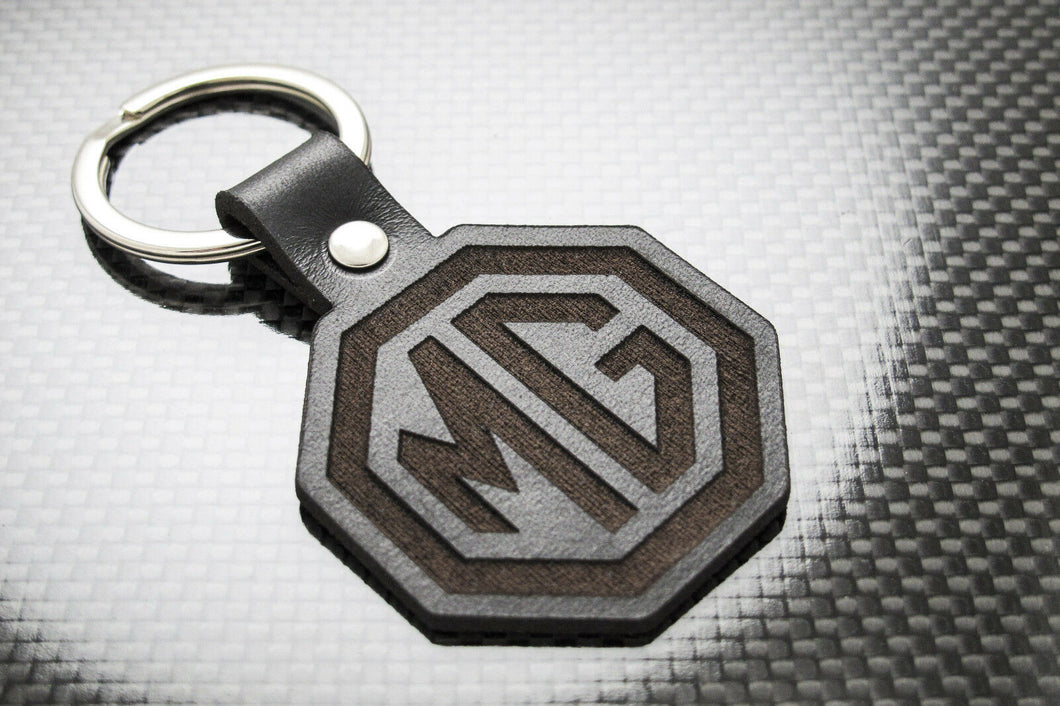 Leather Keychain for MG Morris Garages