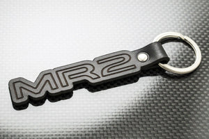 Leather Keychain Keyring for Toyota MR2 Turbo