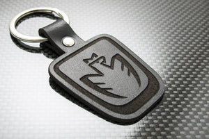 Leather Keychain for Toyota MR2 MR-S Spyder (Eagle)