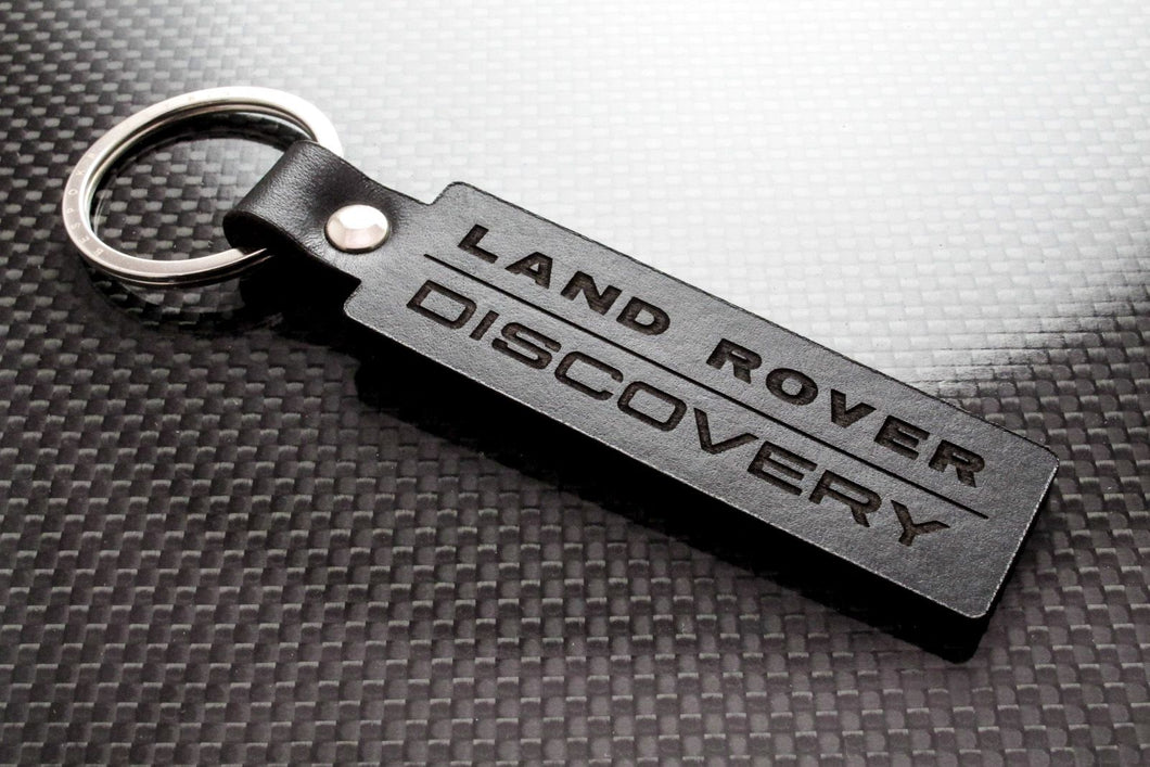 Leather Keychain for Land Rover Discovery (OG)