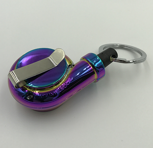 Boostnatics Retractable Turbo Key Reel - Neochrome