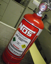 NOS Bottle Fire Extinguisher Decal