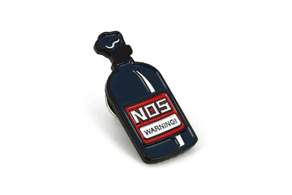NOS Bottle Enamel Pin