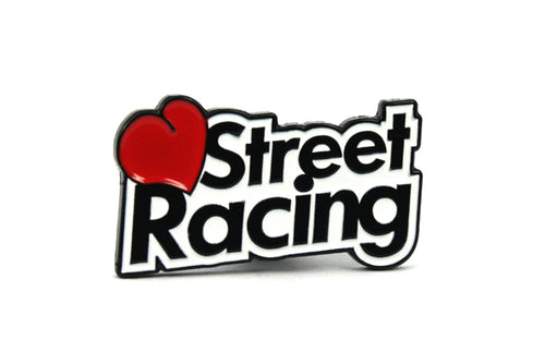 Love Street Racing Enamel Pin