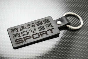 Leather Keychain Keyring for Range Rover Sport