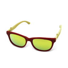 Boostnatics Bamboo Boosted Turbo Shades - Red / Polarized Gold