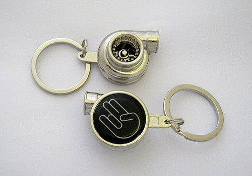 Spinning Turbo Keychain - Shocker Logo