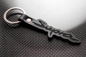 Leather Keychain for Toyota Supra (MK5)