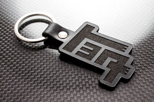 Leather Keychain for Toyota TEQ (Die Cut)