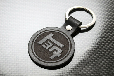 Leather Keychain for Toyota TEQ