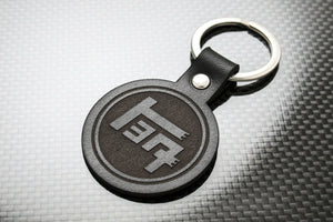Leather Keychain Keyring for Toyota TEQ