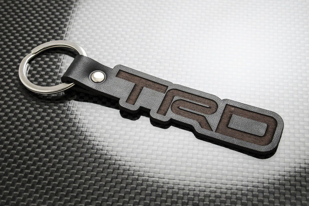 Leather Keychain for Toyota TRD (Die Cut)