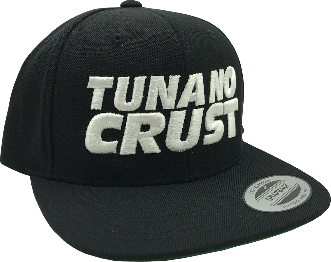 Tuna No Crust Snapback Hat