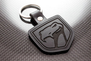 Leather Keychain for Dodge Viper (Gen 1 & 2)