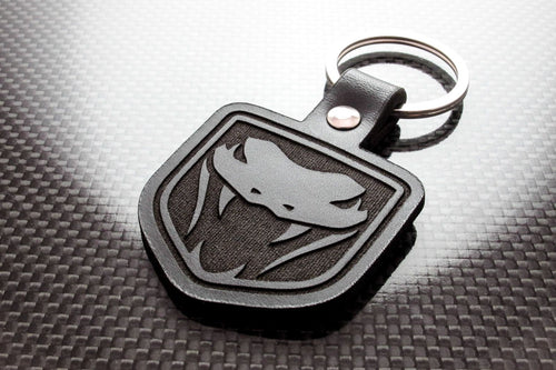 Leather Keychain for Dodge Viper (Gen 3 & 4)