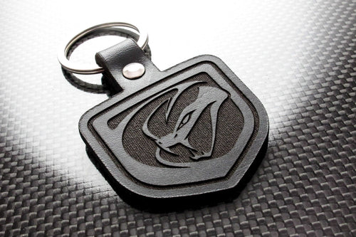 Leather Keychain for Dodge Viper (Gen 5)