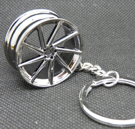 Vossen CVT Wheel Keychain - Black