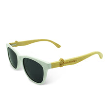 Boostnatics Bamboo Boosted Turbo Shades - White / Polarized Black