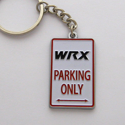 Subaru Impreza WRX Parking Only Keychain