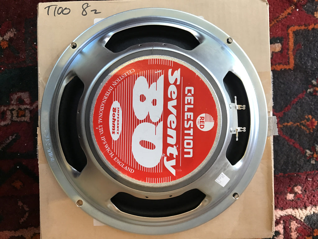 "Celestion Red Label Seventy 80 50W 12"" 8ohm 50"
