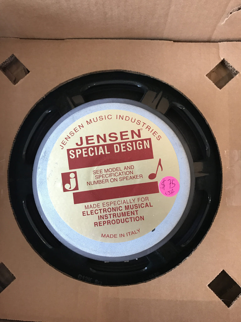 "Jensen C12K Made In Italy 100W 12"" 8ohm Speaker"