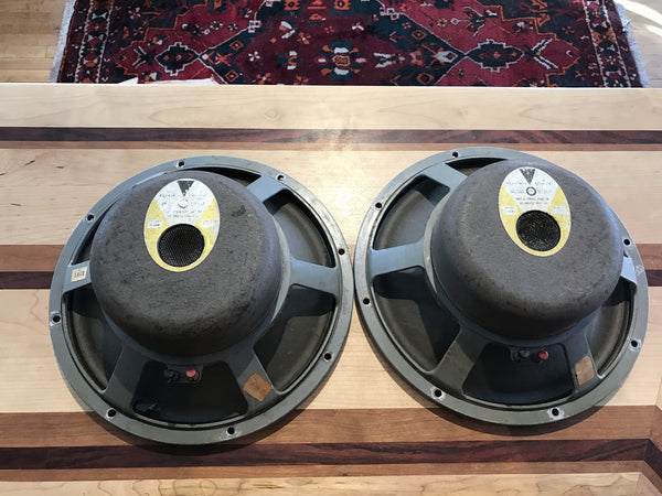 "JBL D120F Vintage 12"" 8ohm Speakers SEQUENTIAL PAIR"