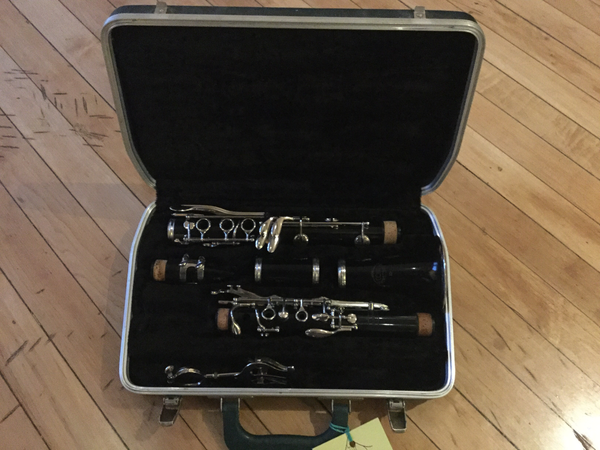 Conn 16 Clarinet with Case + Mouthpiece