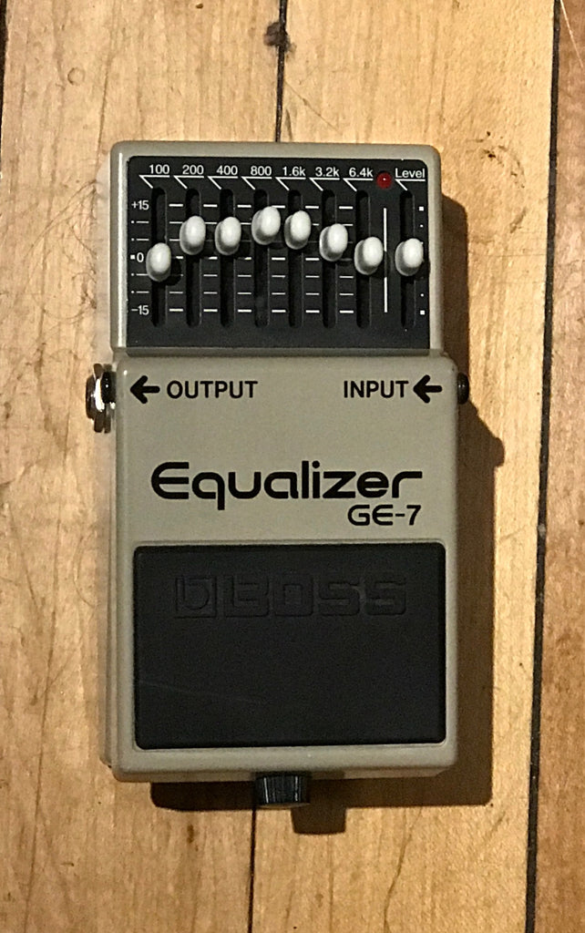 Boss GE-7 Seven Band Graphic EQ