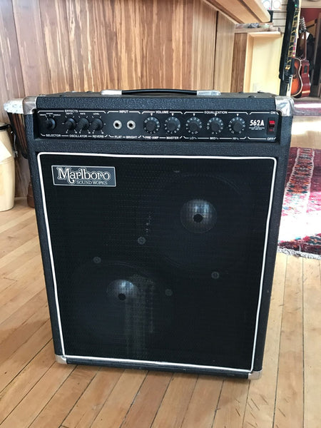 Marlboro 562a 2x10 Solid State Electric Guitar Combo Amplifier