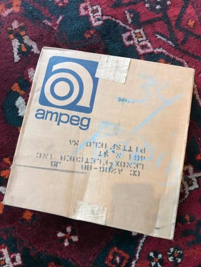 Ampeg V6B Amp Cover in Box