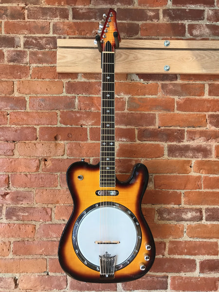 Goldtone ES-Banjitar Electric 6 String Banjo with OHSC