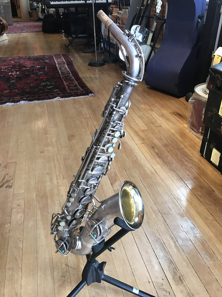 Martin Low Pitch Silver Plated Alto Saxophone c. 1933-'35, Recently Serviced