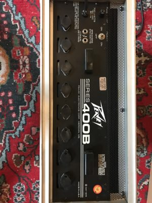 Peavey Series 400B Power Amp