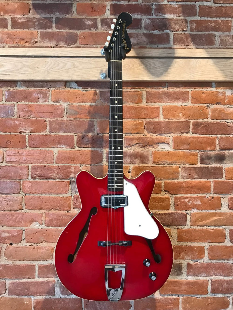Fender Coronado I 1966 Red with HSC