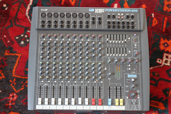 Soundcraft Spirit Powerstation 600 Mixer